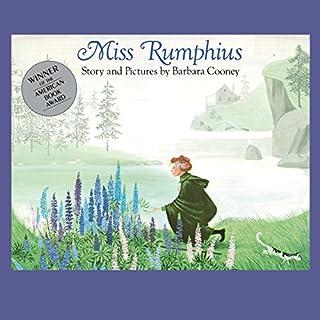 Miss Rumphius audiobook cover art