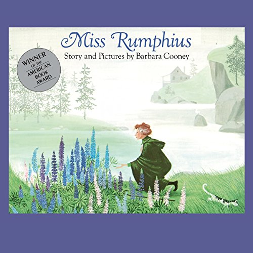 Miss Rumphius audiobook cover art