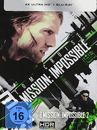 Produktbild von M:I-2 - Mission: Impossible 2 (4K Ultra HD) (+ Blu-ray) limitiertes Steelbook (exklusiv bei Amazon.de)