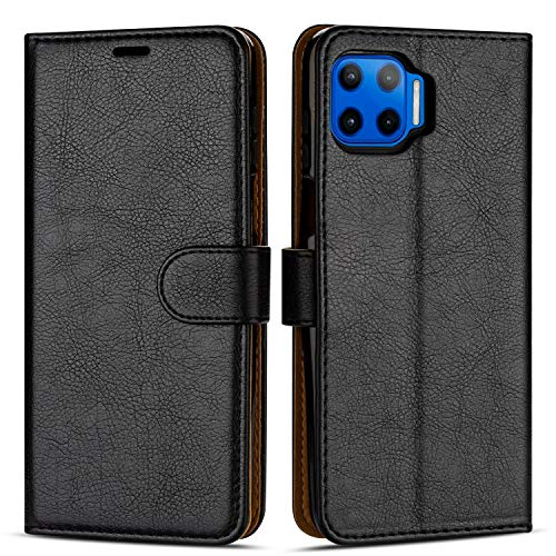 Case Collection Custodia per Motorola Moto G 5G Plus Cover (6,7') a Libretto in Pelle di qualità Superiore con Slot per Carte di Credito per Motorola Moto G 5G Plus Custodia