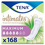 Tena Intimates Maximum Absorbency Incontinence/Bladder Control Pad, Regular Length, 168 Count