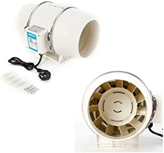 Fan 75W Bathroom Extractor Fan 150mm Modern Kitchen Toilet Ventilators 220V 2500 RPM