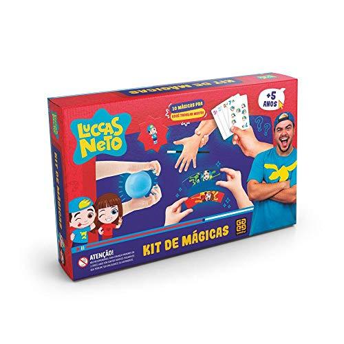 Grow - Luccas Neto Kit de Mágicas, 5+ Anos, Multicor, (Grow 03770)