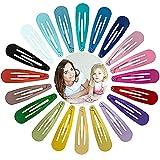 Viccess 120 Piezas horquillas pelo niñahorquillas pelo niña clips pelo niña pinzas de pelo niña metal,20 Colores (120pcs)