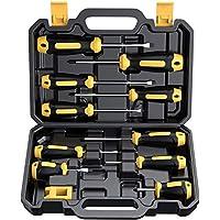 10-Piece Cremax Professional Cushion Grip Magnetic Screwdriver Set