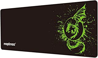 Large Mouse Pad Extended Speed Gaming Mouse Pad Fly Dragon Mouse Pad Gamer Office Computer Mouse Mat (A-Green)
