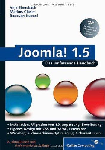 Joomla!: Das umfassende Handbuch (Galileo Computing) von Anja Ebersbach (28. November 2008) Gebundene Ausgabe