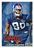 2010 Topps Football Rookie Card #23 Jason Pierre-Paul. rookie card picture