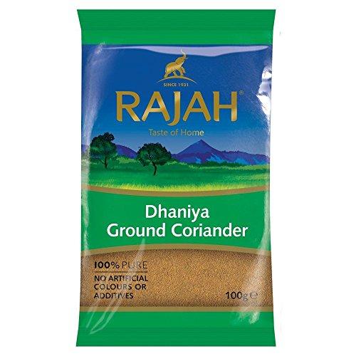 Rajah - Coriandre en poudre/poudre de dhana - 100 g