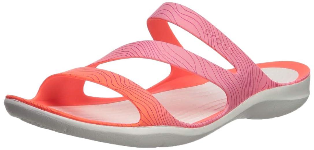 シンク掻く動[Crocs] レディース US サイズ: 5 M US カラー: ピンク