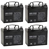 UPG UB12350 (Group U1) Battery - Universal Battery - 12V 35Ah - 4 Pack