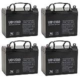 UPG UB12350 (Group U1) Battery - Universal Battery - 12V 35Ah - 4 Pack