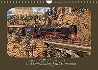 Modellbahn Gut Eversum (Wandkalender 2022 DIN A4 quer): Impressionen der groessten Modellbahn Europas in Spur 0. (Monatskalender, 14 Seiten )
