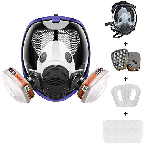 15in 1 Reusable Full Attention brand Face Respirator Ranking TOP3 in Paint Spraye Used Widely