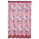 Hello Kitty Fabric Shower Curtain By Sanrio