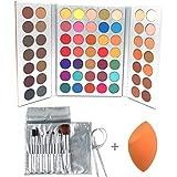 Beauty Glazed Sweatproof Eyeshadow Palettes +...
