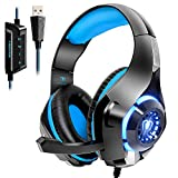 Beexcellent Gaming Headset for PS4 PC