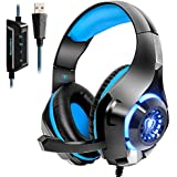 Beexcellent USB Gaming Headset for PC, 7.1...