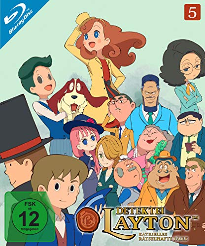 Detektei Layton - Katrielles rätselhafte Fälle: Volume 5 (E.41-50) [Blu-ray]