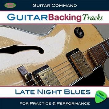 Guitar Backing Tracks - Late Night Blues