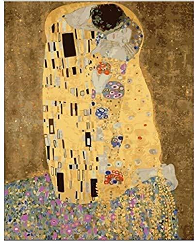 MTAMMD Puzzles Puzzle di Legno 500 1000 1500Pezzo Puzzle Kit Fai da Te Klimt'S Il Bacio Gioco Educativo Giocattoli Puzzle per Adulti-1500Pieces