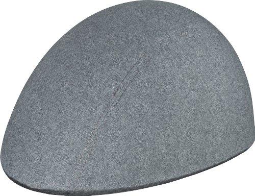ABUS Fahrradhelm Cyclonaut, Grey, 58-62 cm, 52156
