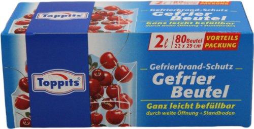 Toppits Gefrier Beutel 2L 80 Beutel