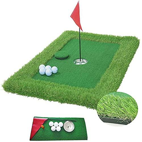 Juego de césped Flotante para Golf: tapete Verde para Golf Flotante, Juego de Patio Trasero para Golf acuático, tapetes para Putting Green flotantes para Piscina, Green para Chips para Putt de