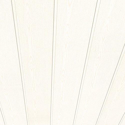Swing Line Wandpaneel und Deckenpaneel Struktur weiss 2600 x 168 x 8 mm