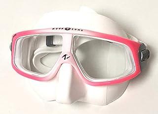 AQUALUNG(アクアラング)SPHERA LX MASK スフェラ LX マスク/スフェラマスク ピンク/ホワイトシリコン [107890] ワイドな視界 フリーダイバーに人気!