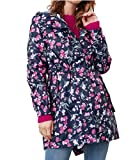 Joules Golightly Abrigo Impermeable, Navy Floral, 12 para Mujer