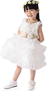 千恵モール 子供ドレス 女の子 プリンセスドレス かわいい子供ドレス 演奏会 発表会 結婚式 入園式 子供洋服 誕生日 入学式 子供の日 遊園地