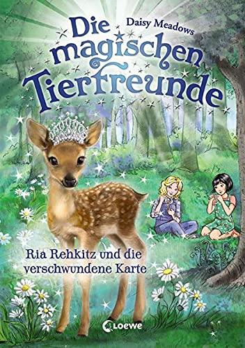 Die magischen Tierfreunde 16 - Ria Rehkitz und die verschwundene Karte: Erstleserbuch für Mädchen ab 7 Jahre