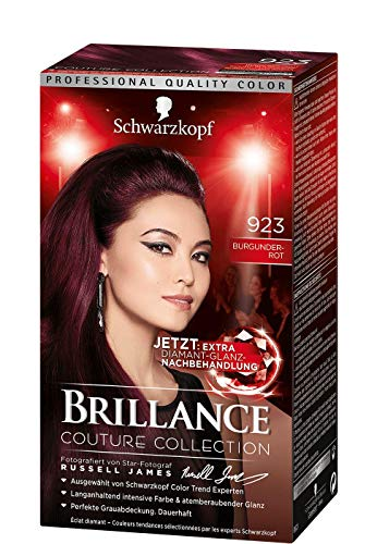 Schwarzkopf Brillance Intensiv Color Creme 923 Burgunderrot