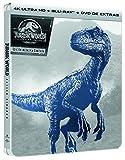 Jurassic World 2 El Reino Caido (4K UHD + BD + DVD Extras) - Edición Metálica [Blu-ray]