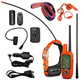 Garmin Astro 430/T5 GPS/GLONASS GPS Handheld Dog Tracking Bundle with Wearable4U Whistle and Leash Bundle