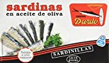 Dardo - Sardinillas en Aceite de Oliva - 14/18 piezas - 118 g  pack-10