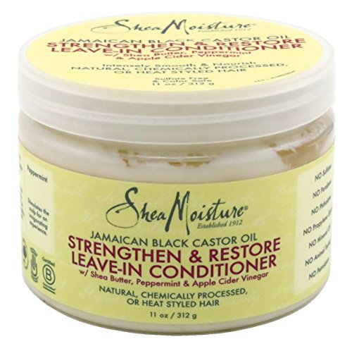 Shea Moisture Jamaican Black Conditioner Leave-In 11 Ounce Jar (325ml) (6 Pack)