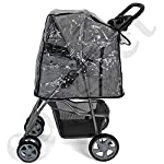 Easipet Rain Cover Pet Stroller 11