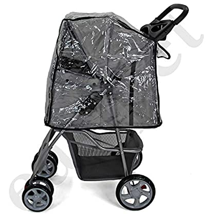 Easipet Rain Cover Pet Stroller 2