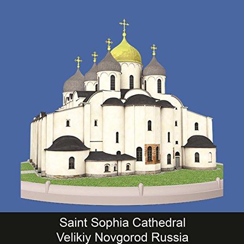 Saint Sophia Cathedral Velikiy Novgorod Russia copertina