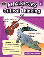 Analogies for Critical Thinking, Grade 6