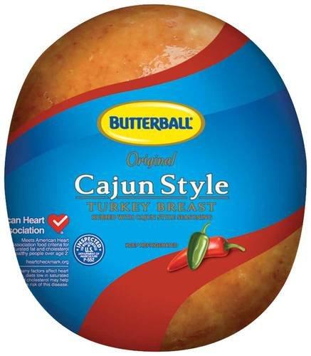 Butterball Cajun Style Turkey Breast, 6.5 Pound -- 2 per case.