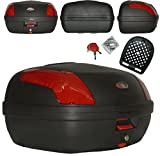 A-Pro Top Case Box 46Lt Universal Quick rlease Motorcycle Scooter Luggage