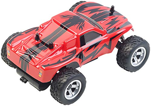 RC Auto kaufen Monstertruck Bild 4: Simulus Monstertruck: Ferngesteuerter Monster-Truck Land Monster, 2,4-GHz-Funk, 15 km/h (RC Car)*