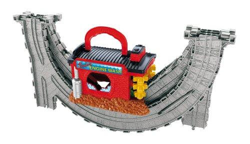 Fisher Price - V7642 - Vehicule Miniature Premier Age - Thomas Le Petit Train - Playset Portatif - Station de Lavage