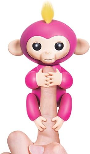 ZXCMNB Jouet Modèle Doigt De Doigt Singe Doigt Couleuré Singe Robot électronique Intelligent Enfant Cadeau (Couleur   rose)
