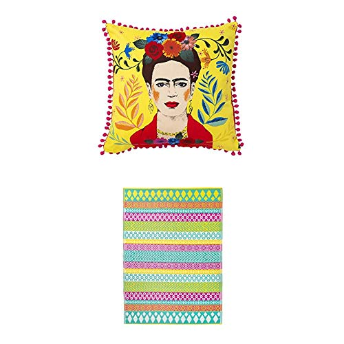 Talking Tables - Outdoor Rugs and Frida Kahlo Cushion