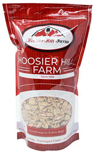 Imitation Chicken Strips (Unflavored TVP SOY Protein), 3 lb Bag, by Hoosier Hill Farm