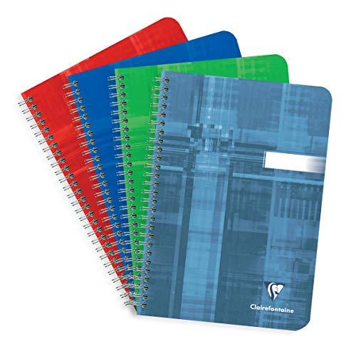 Preisvergleich Produktbild Clairefontaine 8532C Spiralbuch (DIN A4,  14,8 x 21 cm,  kariert